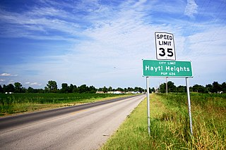 Hayti Heights, Missouri City in Missouri, United States