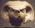 Head of Falcon God - Front - 12th Dynasty - ÄS 7077.jpg