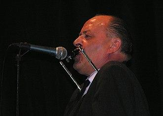 Henning Stærk - Henning Stærk during a performance