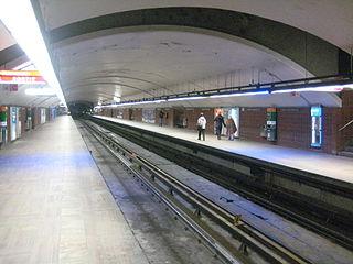 Henri-Bourassa station Montreal Metro station