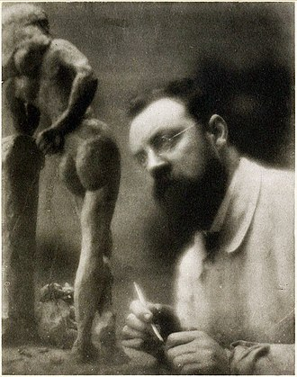 Edward Steichen - Henri Matisse and La Serpentine, fall 1909, Issy-les-Moulineaux, photograph by Edward Steichen