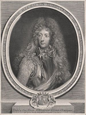 Henri, Count of Brionne - Anonymous engraving of Brionne
