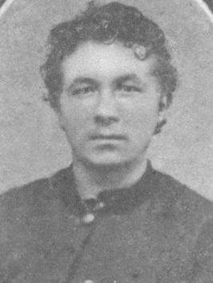 Henry Crimmel - Henry Crimmel in uniform about 1862.