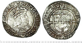 The Great Debasement - Henry VIII Groat 1526-1532
