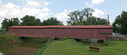 Herr's Mill Covered Bridge Side View 2696px.jpg