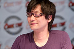 Hideo Kojima na Japan Expo 2010 w Paryżu