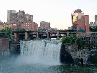 Genesee River - Image: High Falls Genesee