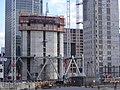 High rise construction London Docklands E14 - 32978432970.jpg
