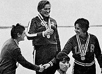 Hilde Lauer, Lyudmila Pinayeva, Marcia Jones 1964.jpg