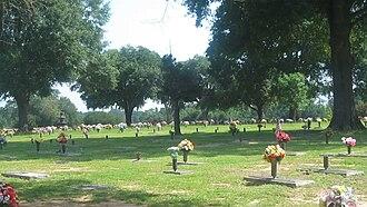 Haughton, Louisiana - Image: Hillcrest Cemetery, Haughton, LA MVI 2643