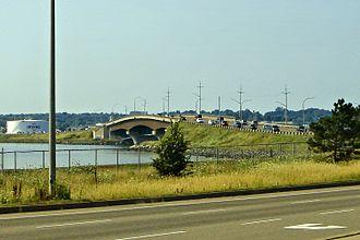 Prince Edward Island Route 1 - Route 1 at the Hillsborough River Bridge