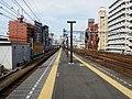 Hiranumabashi station platform 20170416.jpg