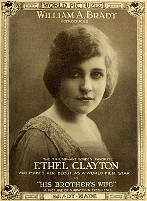 Ethel Clayton - His Brother's Wife (1916)