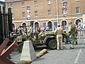 Historic military vehicles within Portsmouth Historic Dockyard - geograph.org.uk - 899885.jpg