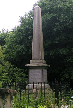 Hobson's Conduit - Image: Hobson's Conduit monument at Nine Wells