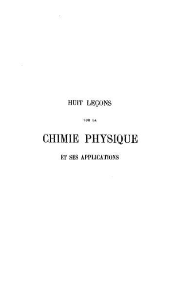 File:Hoff - La Chimie physique et ses applications.djvu