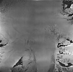 Holgate Glacier, source of tidewater glacier and bergschrund, August 27, 1963 (GLACIERS 6549).jpg