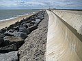 Holland-on-Sea, Sea defence wall at Sandy Point - geograph.org.uk - 1470950.jpg
