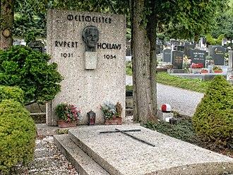 Rupert Hollaus - Rupert Hollaus grave at Traisen