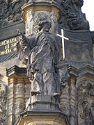 Holy Trinity Column - John of Nepomuk.jpg