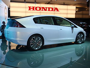Honda Insight Concept at the 2008 Paris Motor Show