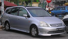 Honda Stream (first generation) (front), Serdang.jpg