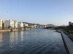 Honkawa River from Aioibashi Bridge 2.jpg