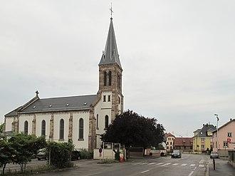 Horbourg-Wihr - Image: Horbourg, l'église catholique foto 2 2013 07 24 11.47