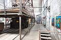 Hornický skanzen Mayrau, chodba a výtah.jpg