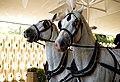 Horse drawn hearse horses City of London Cemetery 3 lighter.jpg