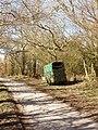 Horsebox in a lane, Draycot Foliat - geograph.org.uk - 133598.jpg