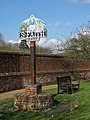 Horsham St Faith - village sign - geograph.org.uk - 1191842.jpg