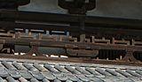 卍字崩し高欄と人字形割束(中門)の解説画像