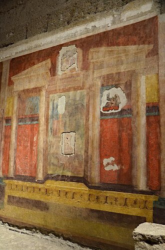 House of Augustus - Room of the Masks, House of Augustus, Palatine Hill, Rome