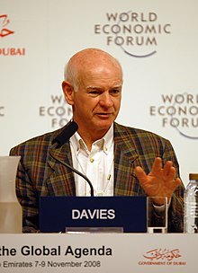 Howard Davies at the World Economic Forum Summit on the Global Agenda 2008.jpg