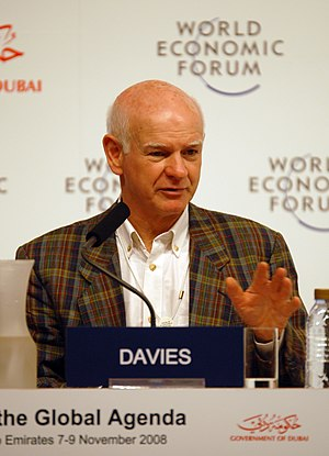 Howard Davies (economist) - Image: Howard Davies at the World Economic Forum Summit on the Global Agenda 2008
