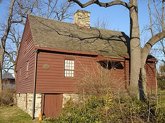 Cape Cod (house) - Hoyt-Barnum House built c. 1699