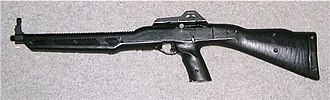 Eric Harris and Dylan Klebold - 9 mm Hi-Point 995 carbine, one of the guns Eric Harris used