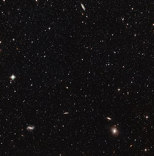 Sculptor Dwarf Galaxy - Image: Hubble's view of the Sculptor Dwarf Galaxy (pointing 1)