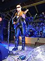 Hudební skupina Ortel, koncert v Runway Club, 26. 9. 2015, 2, Tomáš Ortel hrající na kytaru.jpg
