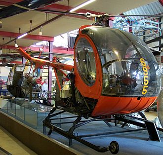 Hughes Helicopters - Hughes's first major successful helicopter was the Model 269/300, known to the U.S. Army as the TH-55 Osage.