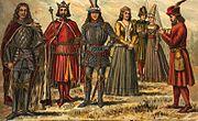 Hungarian clothes 1370-1410