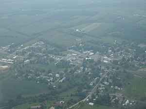 Huntsville, Ohio - Aerial view of Huntsville