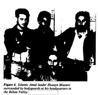Hussein al-Musawi Founded pro-Iranian Islamist militia Islamic Amal