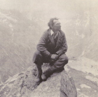 I. A. Richards - I. A. Richards in the Alps c.1930