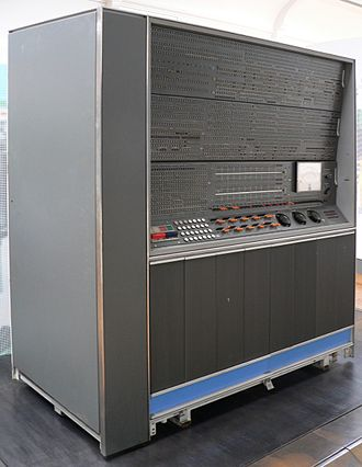 IBM 7030 Stretch - IBM 7030 maintenance console at the Musée des Arts et Métiers, Paris