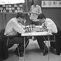 IBM schaaktoernooi . Donner en Langeweg, Bestanddeelnr 912-5667.jpg