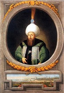 Selim III Sultan of the Ottoman Empire from 1789 to 1807