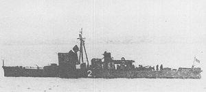 No.1-class submarine chaser - Image: IJN No 2 submarine chaser around 1934
