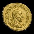INC-1847-a Ауреус Траян Деций ок. 249-251 гг. (аверс).png
